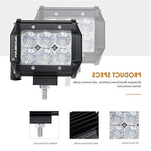 Auxbeam CREE LED Work Bar degree Waterproof Truck