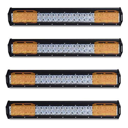 4 pcs 20 126w light bar
