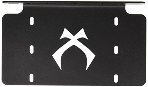 4000308 black license plate bracket