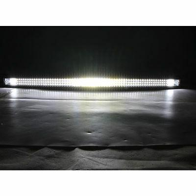 """42""""INCH 540W CURVED TRI-ROW LED LIGHT TRUCK OFFROAD ATV"""