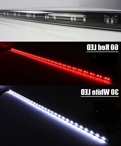 ModifyStreet COB LED Light Bar for Pickup SUV or - 5 Functions - Blade Smoked