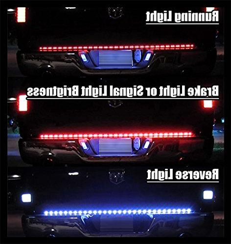 """ModifyStreet 49"""" COB LED Light Bar for 5 Blade cover"""