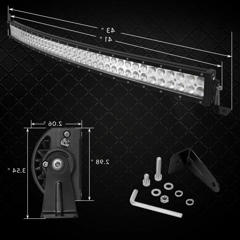 4D LED Light Bar Flood Spot Combo