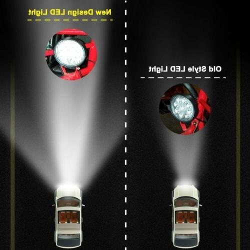 "4x 4INCH LED OFFROAD SUV FOG TRUCK LAMP 6"""