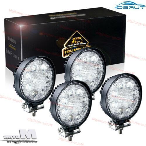 4x 4inch 72w cree led work light