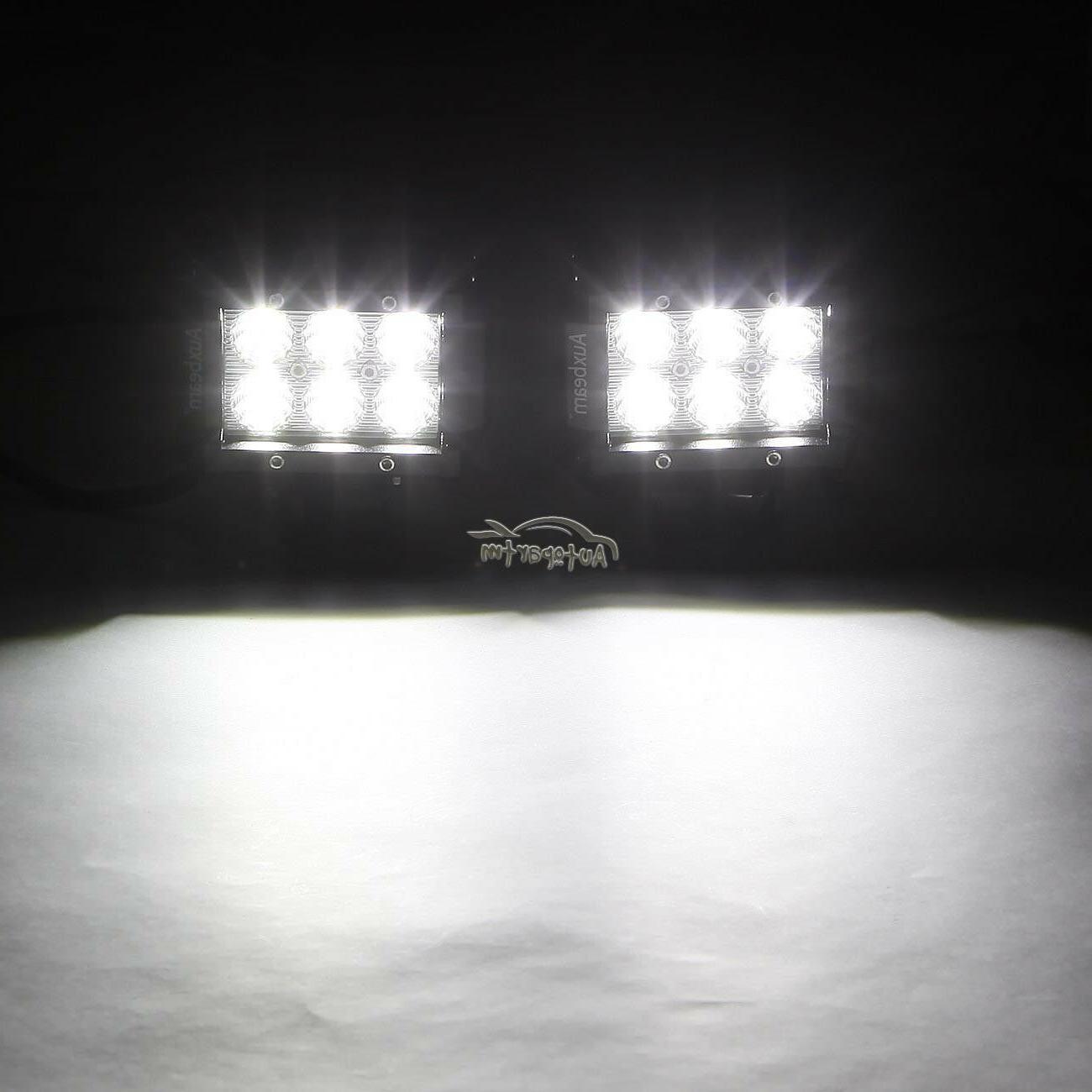 "4x WORK OFFROAD SUV FOG TRUCK LAMP 6"""