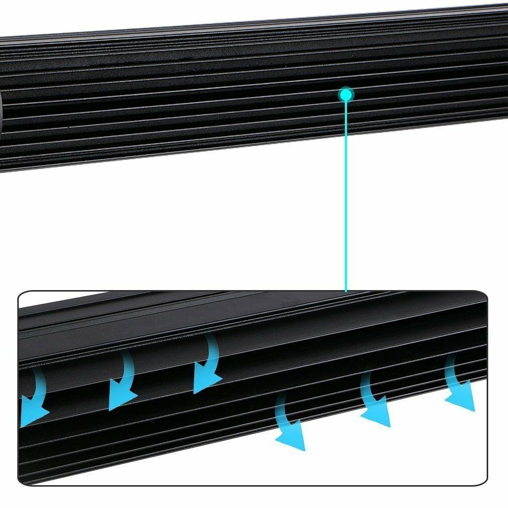 """Curved 50Inch LED Light Bar+22 inch+4"""" PODS OFFROAD SUV VS 52/42/20"""