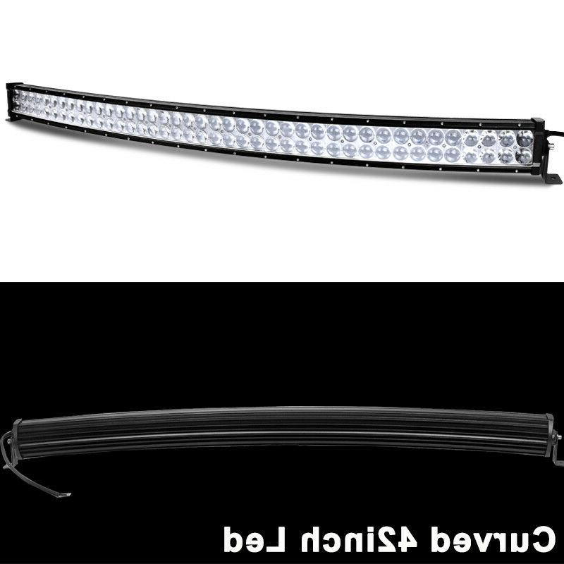 560W 42inch Light Bar Spot Offroad 4X4 Snowmobile &Wiring