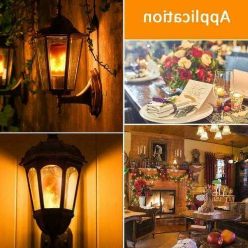 6 Flame Light Bulbs Hotel Bar