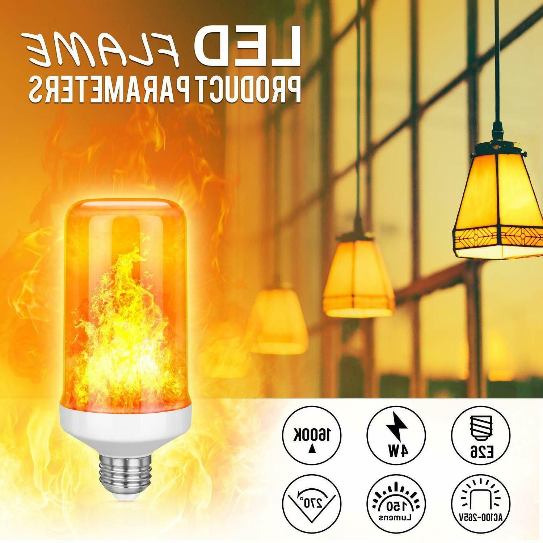 6 LED Flame Effect Nature Light E27 Hotel Bar