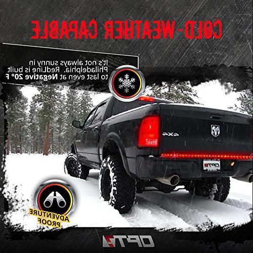 "OPT7 60"" Tailgate Bar - TriCore Rigid Install - Featured Running Turn - 2yr Warranty"