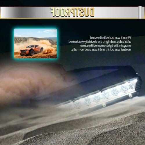 "7"" INCH LED LIGHT FLOOD OFFROAD ATV FOG LAMP 4WD 10''"