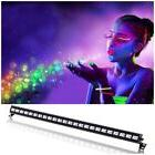 72W UV LED Bar Black Light Wall Stage Lighting DMX Fade DJ D