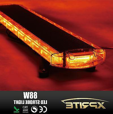 "Xprite 88 Amber 47"" Roof Strobe LED"