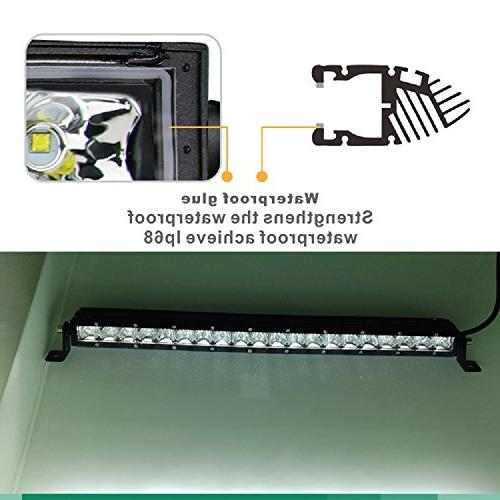 SLDX 5W CREE Row 30 60 combo led light and free for
