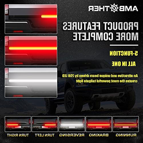 "AMBOTHER 60"" Truck Light LED Strip Turn Tail light Trailer SUV RV Car warranty"