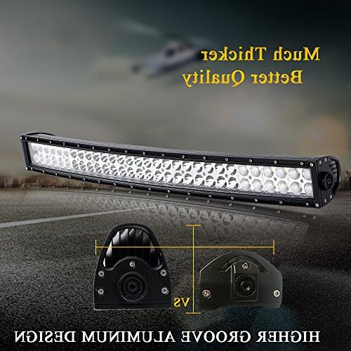 DOT 32 Inch Curved Light + 18W Driving Lights Harness For Offroad SUV UTV Jeep Wrangler Polaris