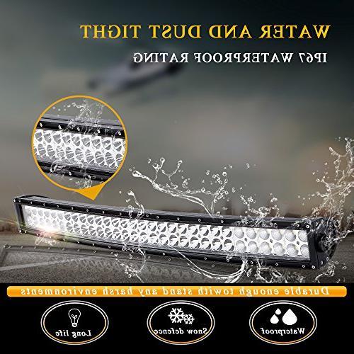 DOT Curved Led Light + 18W Cube Lights W/Rocker Wiring Harness For Offroad Boat SUV ATV UTV Truck Polaris
