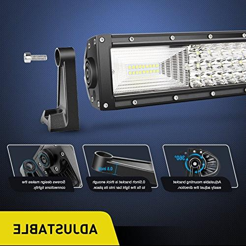 LED Light Bar 22Inch 27000LM Spot Beam Led Bar Driving Lights Bright Led Off Lights Warranty