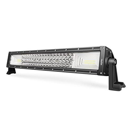 LED Light Bar Nilight 22Inch 270W Triple Row 27000LM Flood S