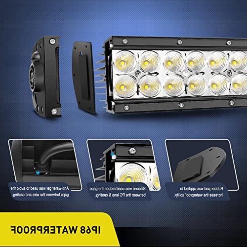 LED Bar Flood Combo Driving Lamp Road Lights LED Work Light Boat Jeep Years