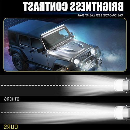 LED Light Bar Row 380W Light Bar Beam Driving Work Lamp Road Lights for SUV ATV years warranty