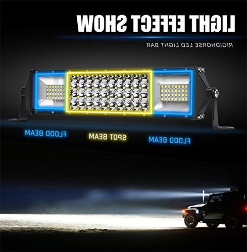 "LED Light Row 40""inch Beam Driving Work Lamp Off Road Lights for ATV Boat Pickup,5 years"