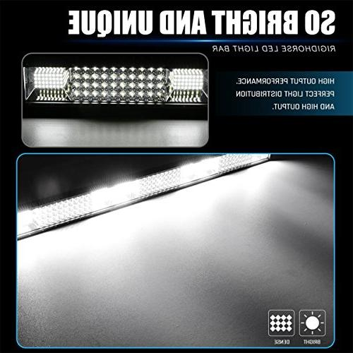 LED Light Bar Quad Bar Spot Beam Driving Boat Work Lamp Off Road Lights for SUV Jeep ATV Pickup,5 years