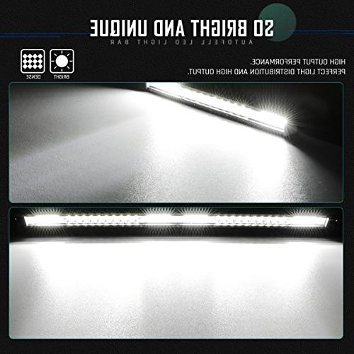 20 inch 200W & Combo Single Row 20000LM Road Fog Driving Light for Pickup Ford Boat, 1 Years Warranty