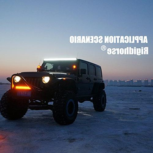 LED Bar Triple Row 108W Work Spot Lights LED Lights Lights SUV Adjustable Bracket