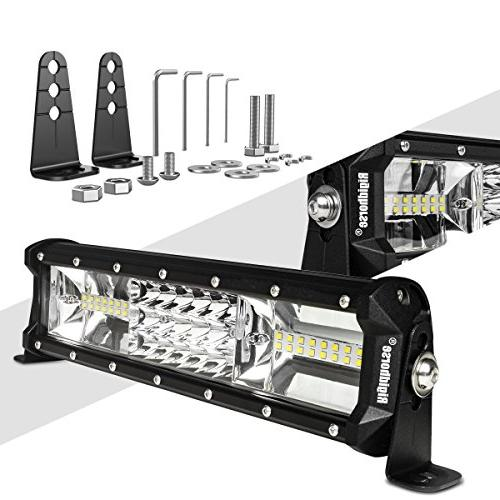LED Light Bar Rigidhorse Triple Row 12 Inch 108W LED Work Li