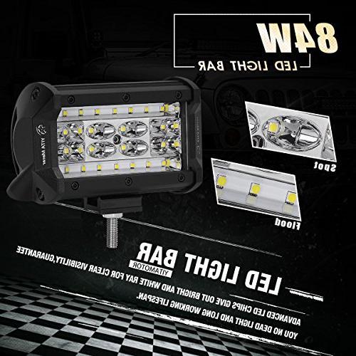 LED LED Work Lights Off Bar Spot Fog Jeep Boat Golf cart ATV SUV, Years Warranty