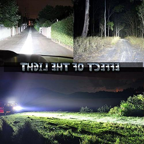 """Nilight 31"""" Light Bar Combo Road Light Driving Lights for SUV Boat Jeep Lamp,2 Years Warranty"""