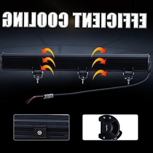 "Nilight 31"" 198W Light Flood Combo Off Light for SUV Boat Jeep Warranty"