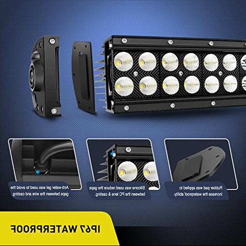 Led Light 42Inch 240W Flood Combo Led Off Road Super Driving Light Boat Light,2 Years