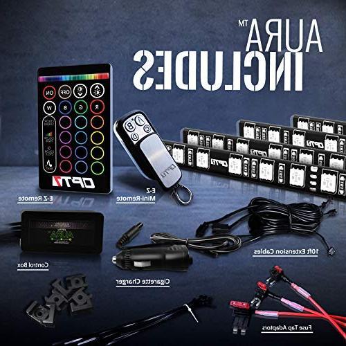 OPT7 LED Strip - 16+ RGB Options Lighting Kit cars - w/ Lighting Mode -