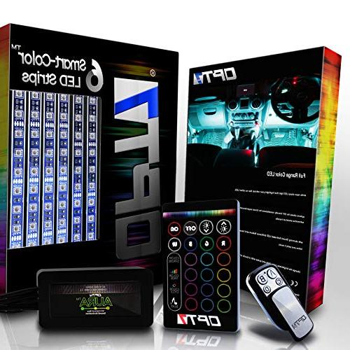 OPT7 Aura Color-Smart LED Strip Kit - 6pc - 16+ RGB Multi-Co