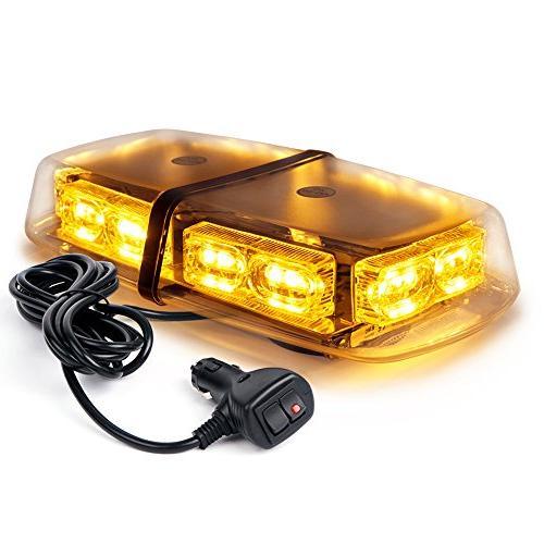 Xprite Gen 3 Amber Yellow 36 LED 18 Watts High Intensity Law