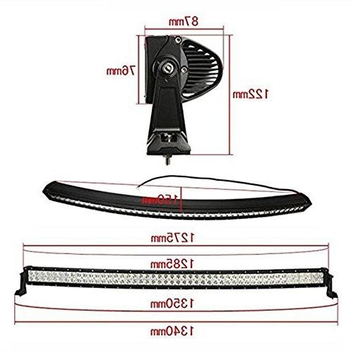 "Yingtex 300CRV 52"" Curved Cree LED Bar SUV with Wiring and Mounts"