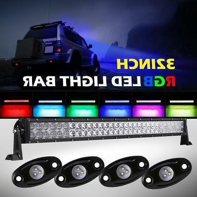 auxbeam 32inch 180w cree led light bar