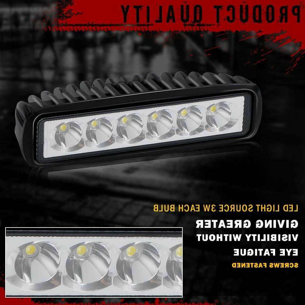 Barra De De Trabajo LED Luces Light 6inch Truck