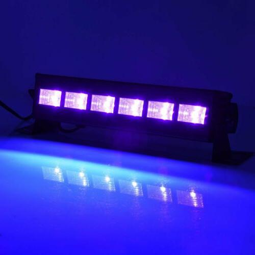 Black 9W Blacklight DJ Light