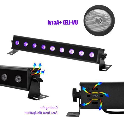 Black Bar UV LED 9W Blacklight Party DJ
