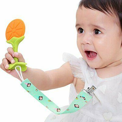 Helskinoy Pacifier Clip 5Pack Premium Quality