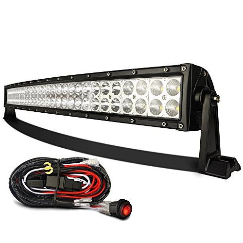 curved 3b239c led light bar