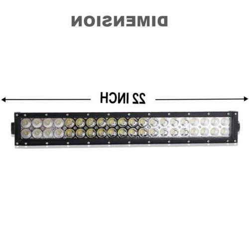"""Curved Light Bar+22 inch+4"""" CREE OFFROAD SUV 4WD VS 52/42/20"""