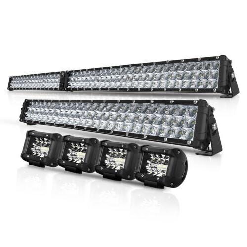 curved 50inch led light bar 22 inch