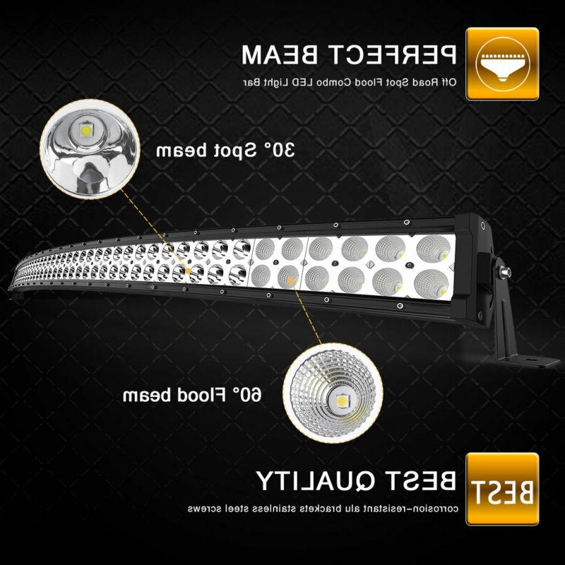 Curved 50inch LED Bar Combo Boat SUV