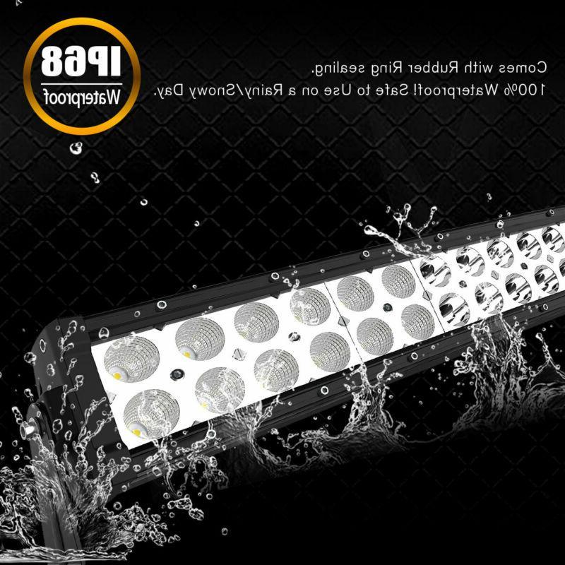Curved 50inch Light Bar 2W Spot Combo SUV