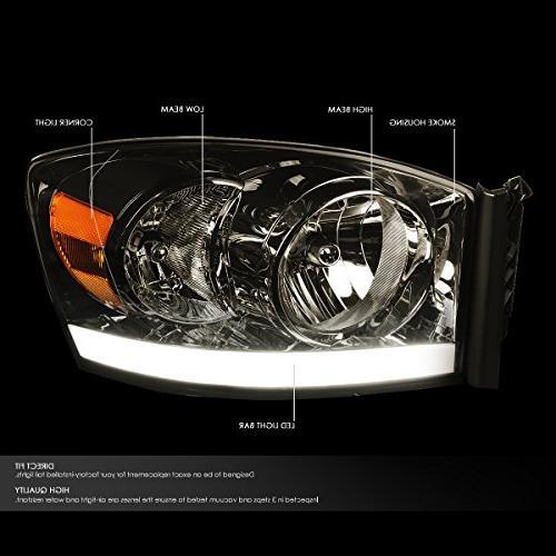 For Ram 3rd Gen Pair Lens Amber W/DRL LED